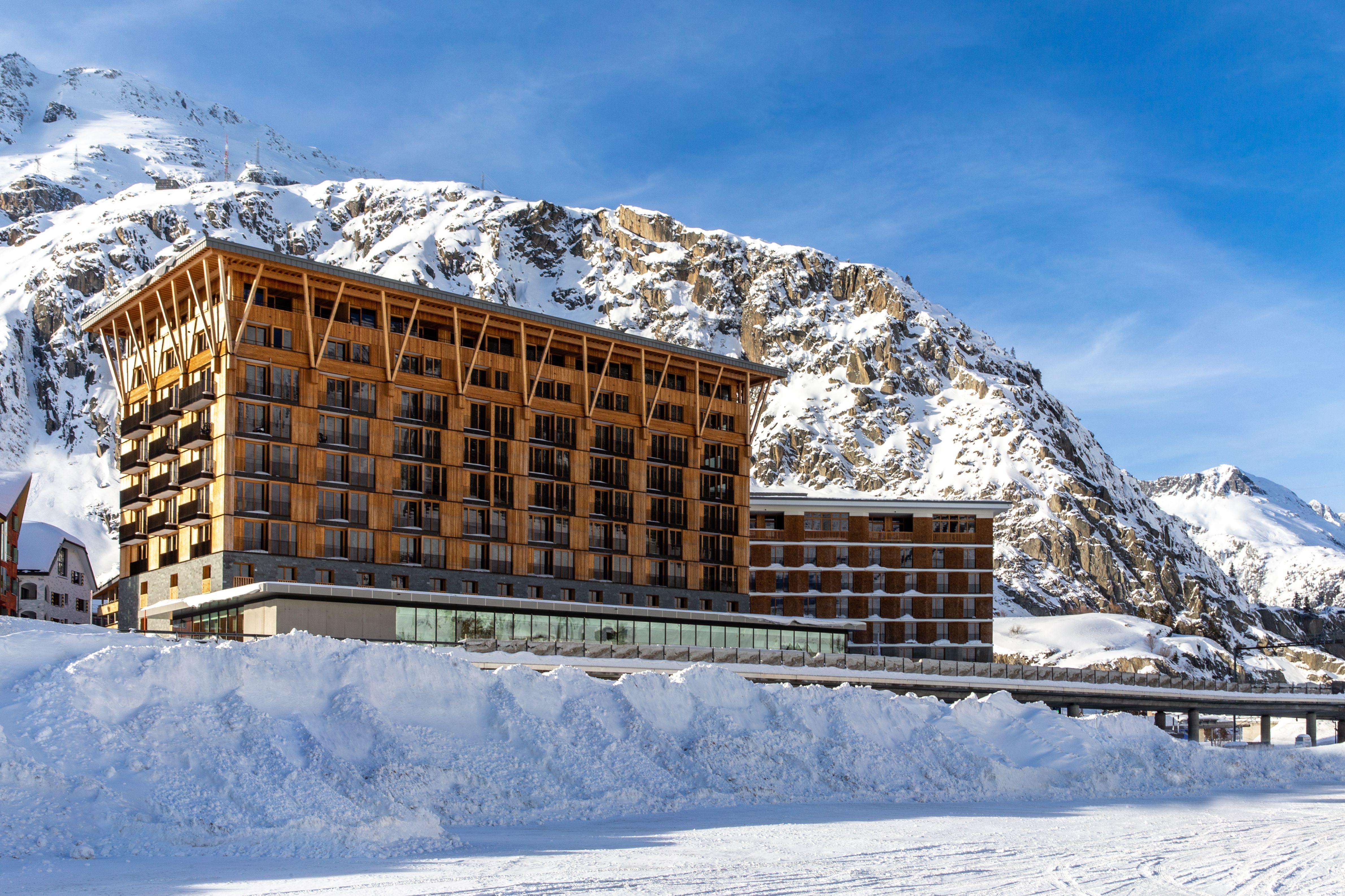 The Radisson Blu Hotel in Andermatt